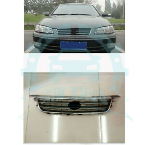 For Toyota Camry 2000 02 Abs Front Bumper Middle Grille Air Vent Hole Replace D