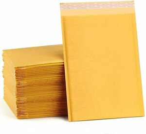 Kraft Paper Bubble Padded Envelopes Mailers Shipping Protection Bags Wholesale