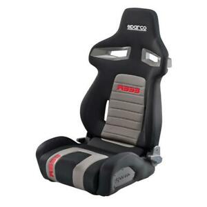 Sparco R333 Black With Red Racing Seat