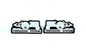 The Ferguson System Decals For Massey Ferguson 35 65 135 Tractors High Quality