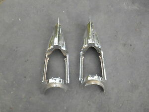 Buick 1958 Buick Special Chrome Tail Light Bezels Matched Pair