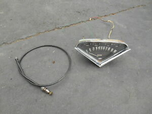 Chevy Gm 1957 Chevy Truck Speedometer And Cable 1955 1967 1958 1959