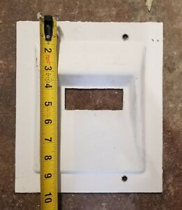 Fpe Federal Pacific Electric Breaker Panel Door Cover Recessed Mounting Panel