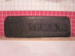 Letterpress Rubber Advertising Print Block plate maytag Appliances Unmounted