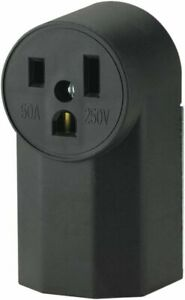 Eaton 1252 2 50 Amp Surface Mount Power Receptacle New
