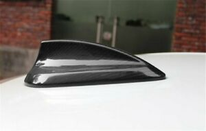 Real Carbon Fiber Antenna Shark Fin Cover For Bmw F20 F26 F45 F46 F15 F16