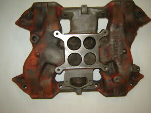 1958 60 Mopar Chrysler Dodge Plymouth 4 Barrel Intake Manifold 1737708