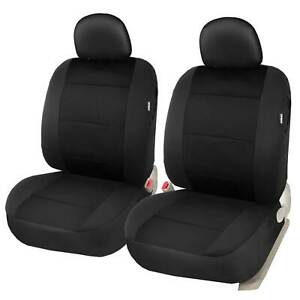 Universal Low Back Front Seat Covers Set Of 2 Auto Car Accessories Protector