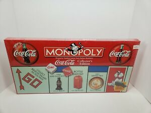 Coca Cola Monopoly Game Collector's Edition Brand New Factory Sealed ~ Rare