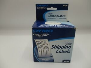 Dymo Shipping Labels 2 31 X 4 1 Roll Label White 30256