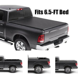For 2009 2018 Dodge Ram 1500 2500 3500 6 5 Ft Bed Soft Tri Fold Tonneau Cover