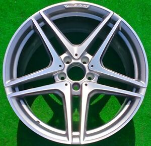 Factory Mercedes Benz Amg C63s Wheel Genuine Oem Front 19 C63 85524 A2054016200