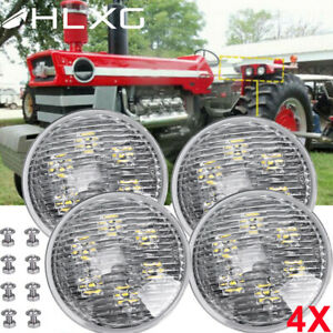 4pc Led Flood Fender Work Light For John Deere Re336111 Re336112 Brand New