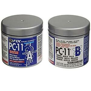 Pc products Pc 11 Epoxy Adhesive Paste Two part Marine Grade 1 2lb In Two