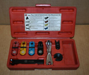 Matco Tools Ftld8 8pc Fuel Transmission Line Disconnect Set Free Shipping