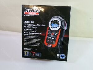 Optima 150 40000 Digital 400 12v Agm Performance Charger Maintainer