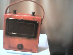 1940s Megger Amperes A c Evershed Vignoles Vintage Meter Test Equipment Good