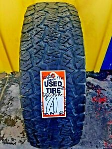 1 Used 265 75 16 Hankook Dynapro At M P265 75r16 No Repairs 7 8 32nds A