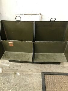 Vintage Metal File Box