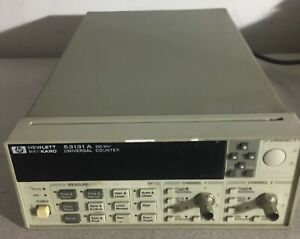 Hp 53131a 225mhz Universal Counter Timer