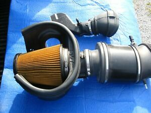 Oem Cold Air Intake Assembly K n Filter Supercharged 13 14 Ford Shelby Gt500
