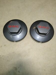 1994 2002 Gmc Sonoma Jimmy S15 Factory Center Cap Gm Dark Hubcap