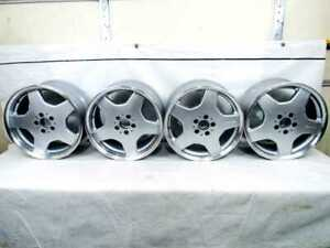Mercedes Amg W220 Monoblock Wheels Rims Oem For S Cl Class 18x9 5 8 5 Restored