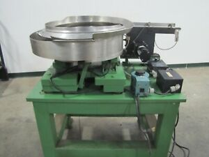 Service Engineering 21 Dia Vibratory Bowl With Feeder System 15363