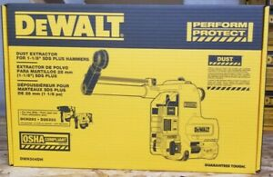 Dewalt Dwh304 Dust Extractor For 1 1 8 In Sds Plus Hammer
