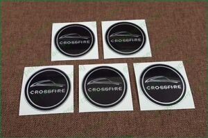 X5 Chrysler Wheel Center Cap Laminated Vinyl Decals Stickers 63mm Any Size