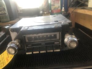 1976 Cutlass Am Push Button Radio With Knobs And Tape Player