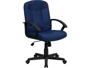 Flash Furniture Fabric Computer And Desk Chair Navy Blue gost6nvyfab