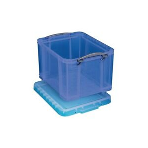 Really Useful Box 32 Liter Snap Lid Storage Bin 32tbl