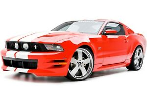 Fits 10 12 Mustang 3dcarbon Boy Racer Urethane Ground Effects Body Kit 691613