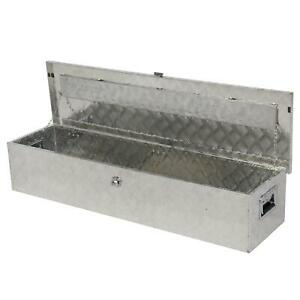 49 Aluminum Pickup Truck Bed Tool Box Rv Trailer Flatbed Underbody Storage Box