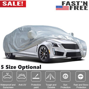 Vislone Car Cover Breathable Waterproof Uv Protection Auto Protection M Xxl H7a8