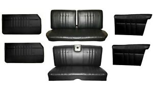 1965 Impala Coupe Front Rear Bench Seat Upholstery Panel Set Any Color