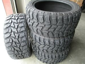4 New Lt 35x12 50r20 Lancaster Mud Tires 35125020 M T Mt 35 12 50 20 1250 E