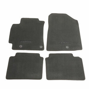 Oem New 2019 2020 Kia Forte Front And Rear Carpet Floor Mats W logo M6f14 ac001