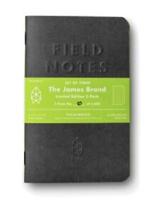 Field Notes The James Brand Limited Edition Sealed