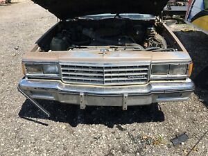 1983 Chevy Caprice Header Panel Complete