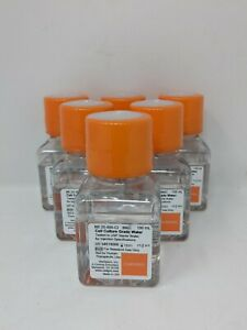 Mediatech 25 055 ci Cell Culture Grade Water Tested To Usp Sterile Water 6 pack