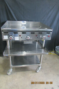 Vulcan 36 Gas Griddle With Snap Action Thermostat Controls Price Lowered Cheap