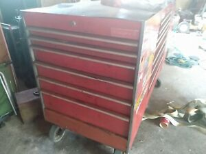 Snap on Tool Boxes With Tools