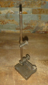 Vintage Test Dial Indicator V Block Base Stand