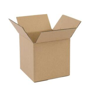 100 4x4x4 Corrugated Mailer Mailing Packing Shipping Boxs
