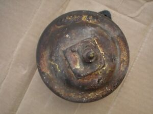 John Deere Unstyled D Hub Cap D327r With Grease Zerk Good Condition