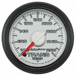 Autometer Products 8557 Gauge Trans Temp 2 1 16 In 100 260degree F Stepper