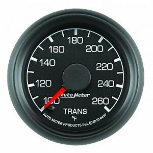 Autometer Products 8457 Gauge Trans Temp 2 1 16 In 100 260degree F Stepper
