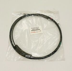 New Genuine For Toyota Yaris Sedan 2007 2011 Trunk Release Cable 64607 52090